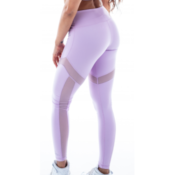 Leggings rushty pastel violet