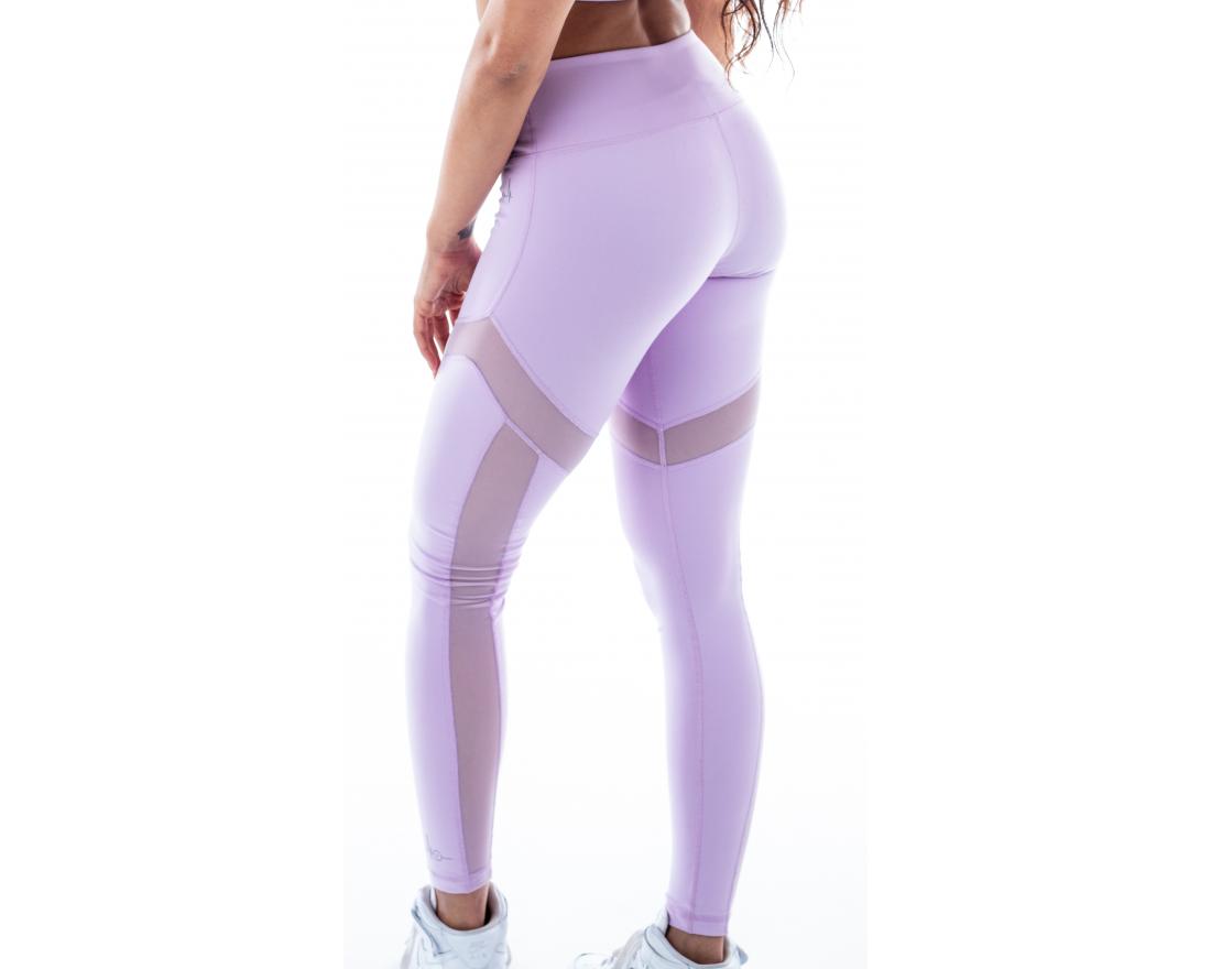 Leggings rushty pastel violet