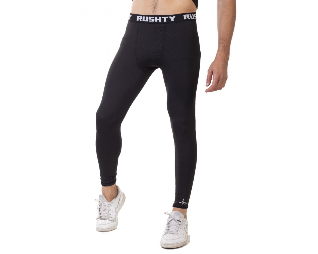 Leggings technique sport noir homme