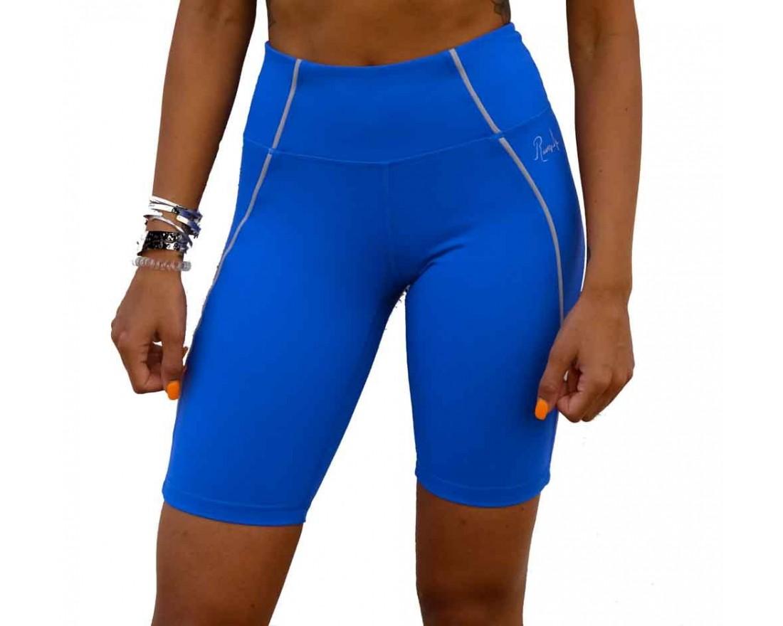 Cycliste martika bleu par rushty