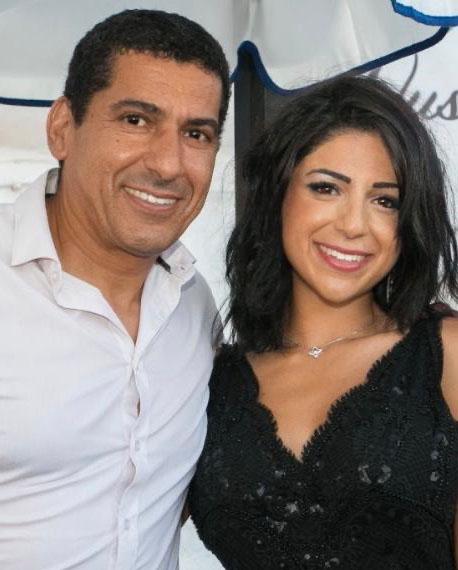Sarah SALEK fondatrice rushty et son papa Rachid Salek dreamweb-company