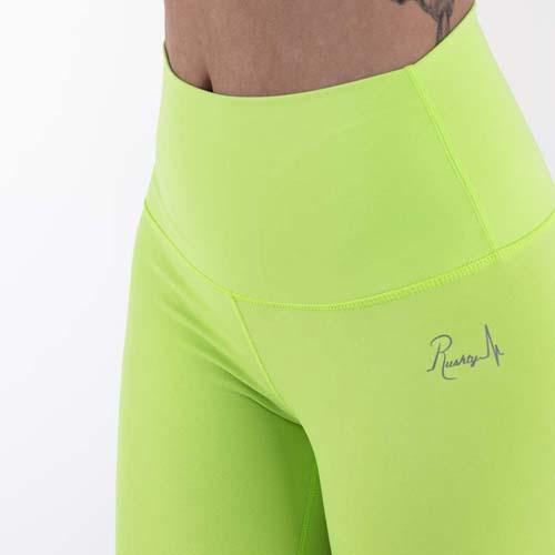Leggings sport femme rushty néon vert