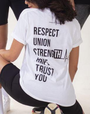 T-shirt vertsion blanc